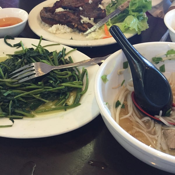 Photo taken at Pho Bac by Alan C. on 6/24/2015