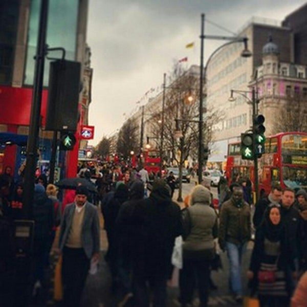 Photo taken at Oxford Street by Mauricio U. on 4/30/2013