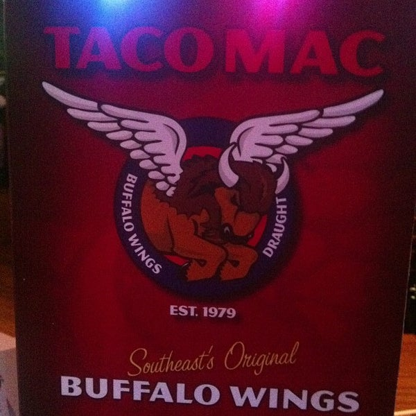 Photo taken at Taco Mac Sports Grill by David D. on 10/12/2012