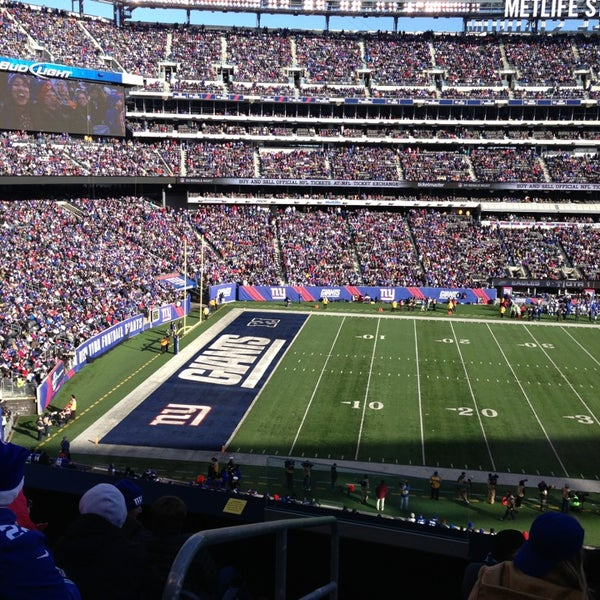 Photo taken at MetLife Stadium by Paul on 12/30/2012