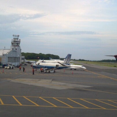 Photo taken at Westchester County Airport (HPN) by Tim P. on 6/9/2012