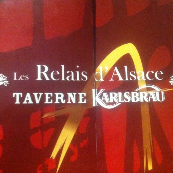 les relais d 39 alsace taverne karlsbr u rue alfred de lassence. Black Bedroom Furniture Sets. Home Design Ideas
