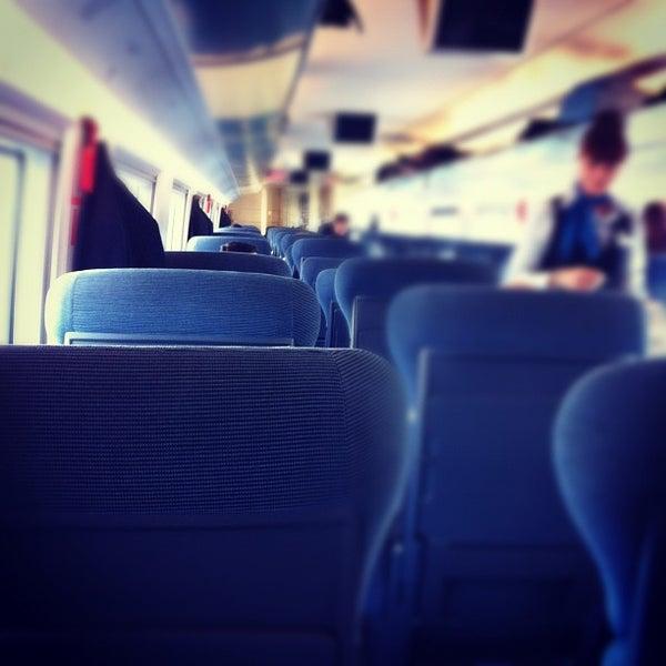 Photo taken at AVE Madrid - Barcelona by Juanjo on 10/20/2012