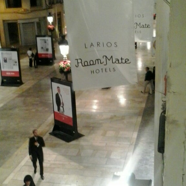 Photo taken at Room Mate Larios Hotel by Fernando on 11/8/2013