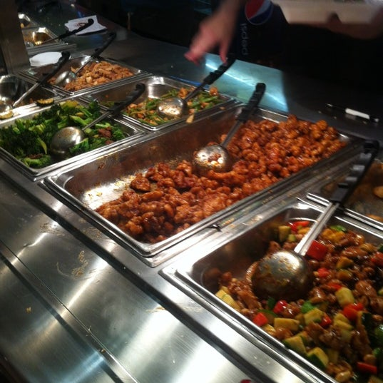 Photo taken at Panda Express by Ricardo J. on 12/22/2012