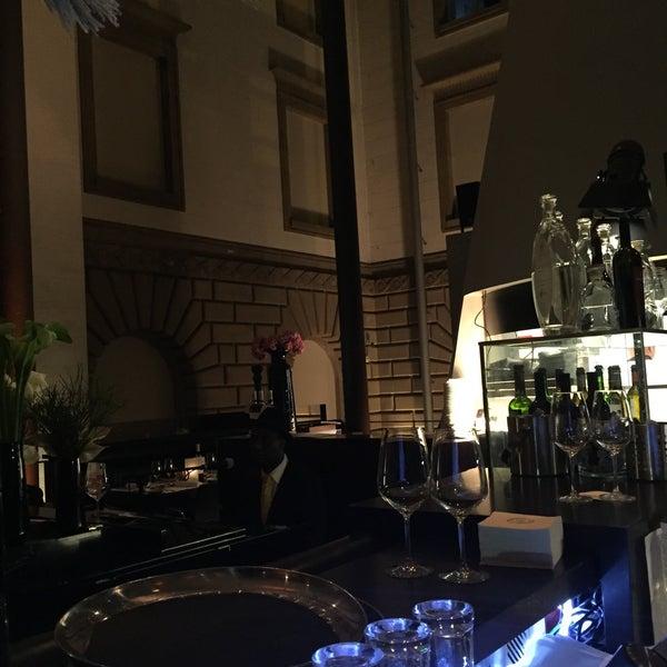 Photo taken at Holbein's Café-Restaurant by Murat U. on 12/11/2015