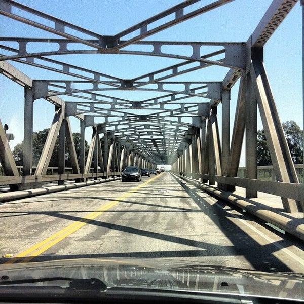 Photo taken at Rio Vista Bridge by Andy B. on 5/4/2013