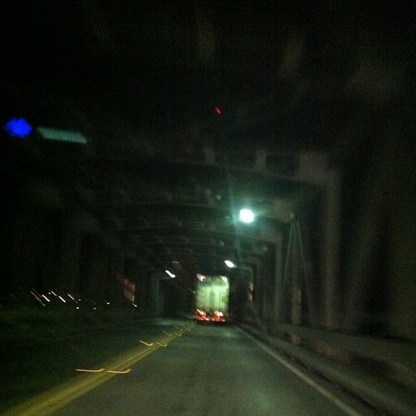 Photo taken at Rio Vista Bridge by Andy B. on 3/19/2013