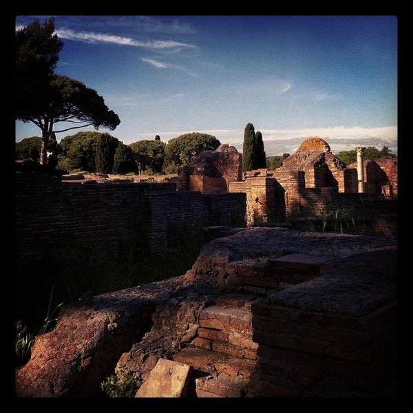 Photo taken at Ostia by Francesca on 5/1/2014