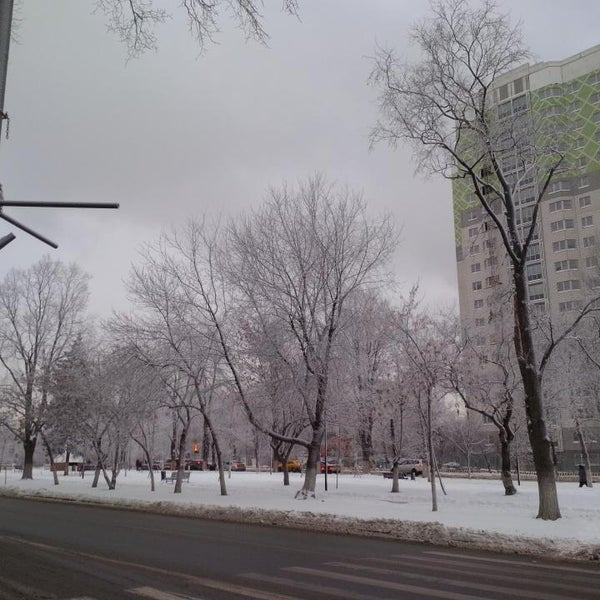 Photo taken at Улица Дмитрия Ульянова by Pavel on 12/28/2014