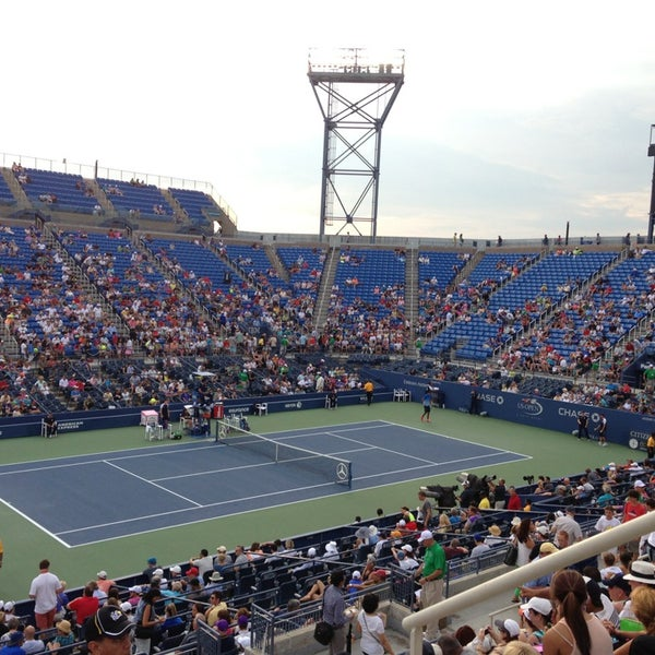 Photo taken at 2013 US Open Tennis Championships by Yukari on 8/27/2013