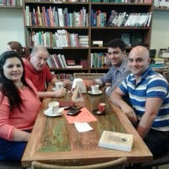 Photo taken at Café Book by Eduardo Y. on 8/30/2013