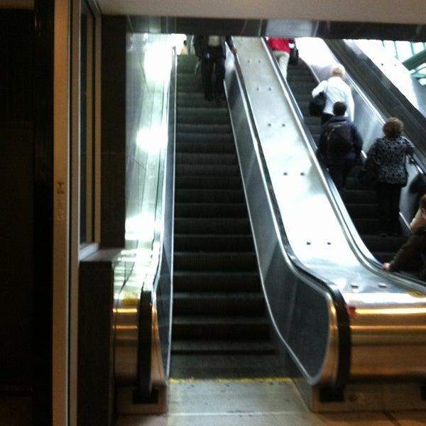 Photo taken at SEPTA MFL/TRL 15th Street Station by Denise C. on 5/8/2013