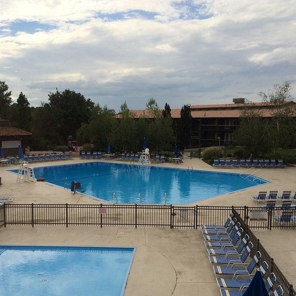 Photo taken at Salt Fork Lodge & Conference Center by Tonya P. on 9/2/2014