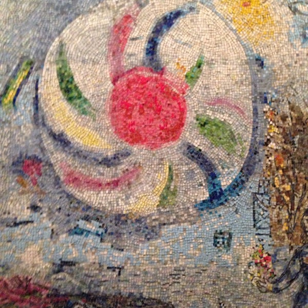 "Photo taken at Chagall Mosaic, ""The Four Seasons"" by David H. on 6/29/2014"