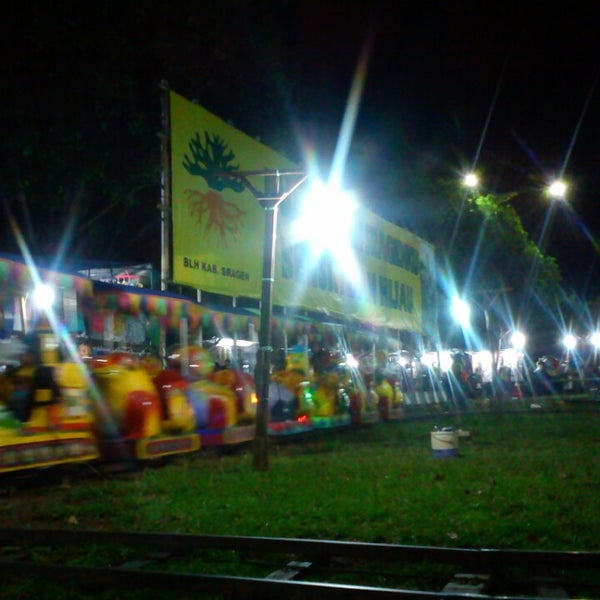 Photo taken at Alun - Alun Sragen by Asef D. on 3/16/2013