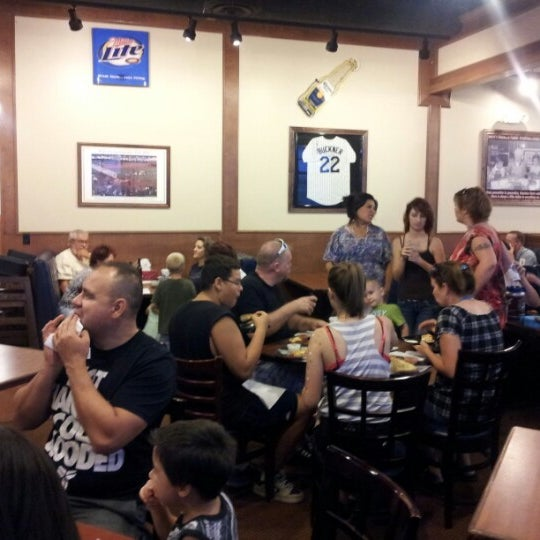 Photo taken at Barro's Pizza by Tisha C. on 8/17/2012