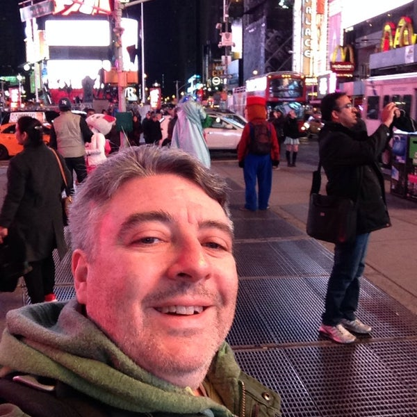 "Photo taken at Max Neuhaus ""Times Square"" by Kevin R. on 11/14/2013"