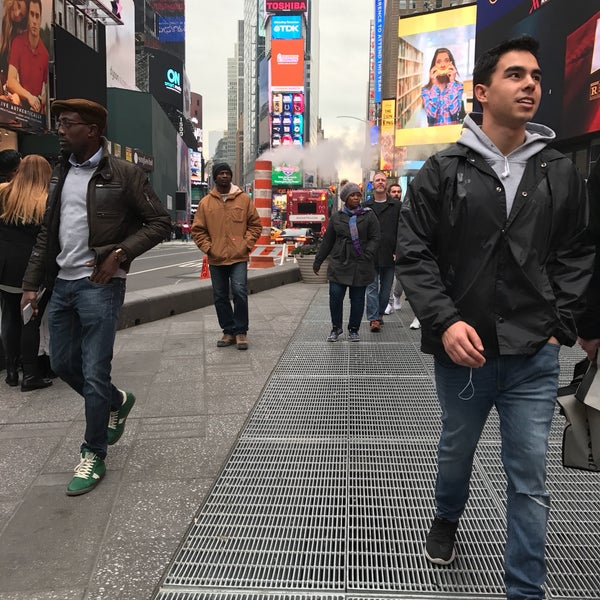 """Photo taken at Max Neuhaus """"Times Square"""" by Kevin R. on 11/25/2016"""