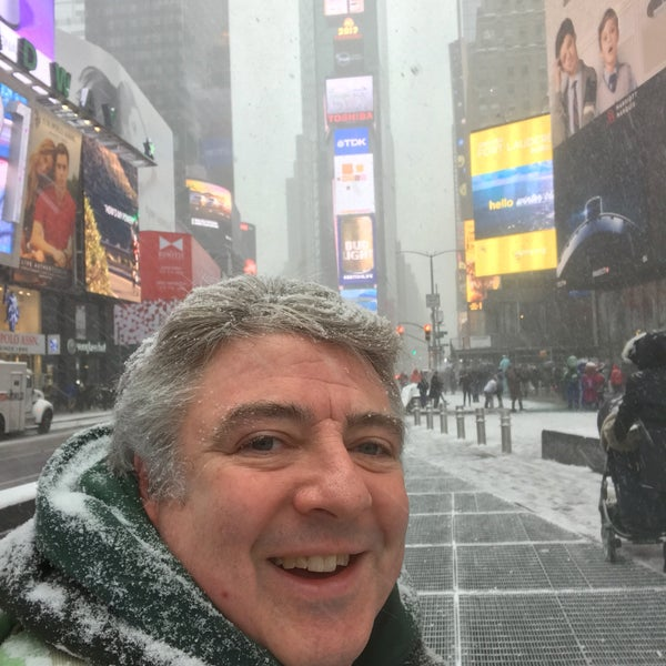 """Photo taken at Max Neuhaus """"Times Square"""" by Kevin R. on 1/7/2017"""