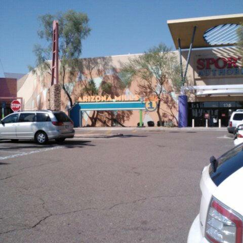Photo taken at Arizona Mills by heysnack .. on 9/26/2012