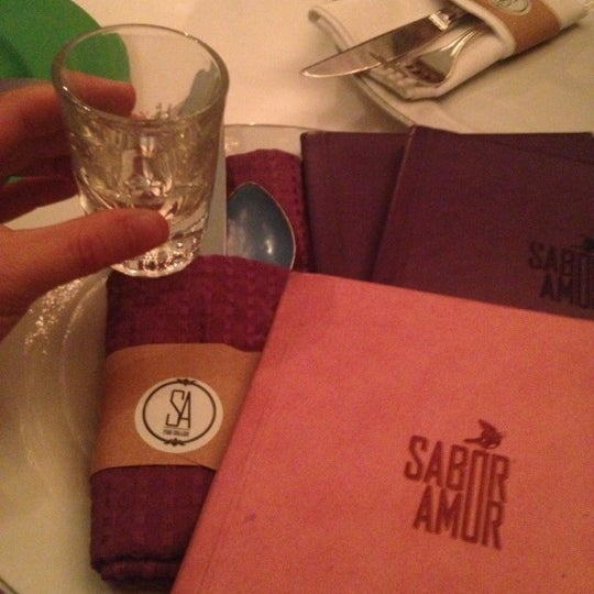 Photo taken at Sabor Amor by Angie on 12/8/2012