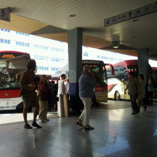 Photo taken at Estación de Autobuses de Valencia by Clara S. on 10/14/2012