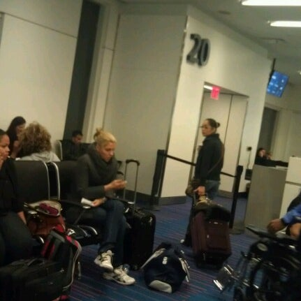 Photo taken at Gate 20 by Max L. on 11/20/2012
