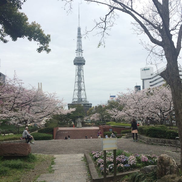 Photo taken at 久屋大通公園 リバーパーク by Super W. on 4/4/2015