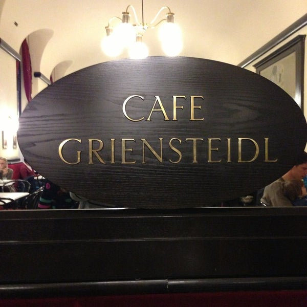 Photo taken at Cafe-Restaurant Griensteidl by Alex on 1/2/2013