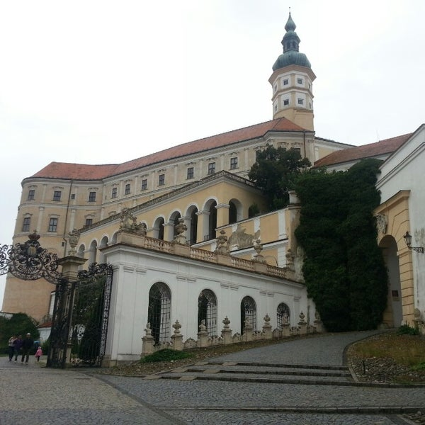 Photo taken at Zámek Mikulov by Noro T. on 8/28/2013