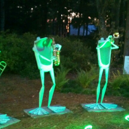 Photo taken at Cape Fear Botanical Garden by Melissa P. on 9/27/2012