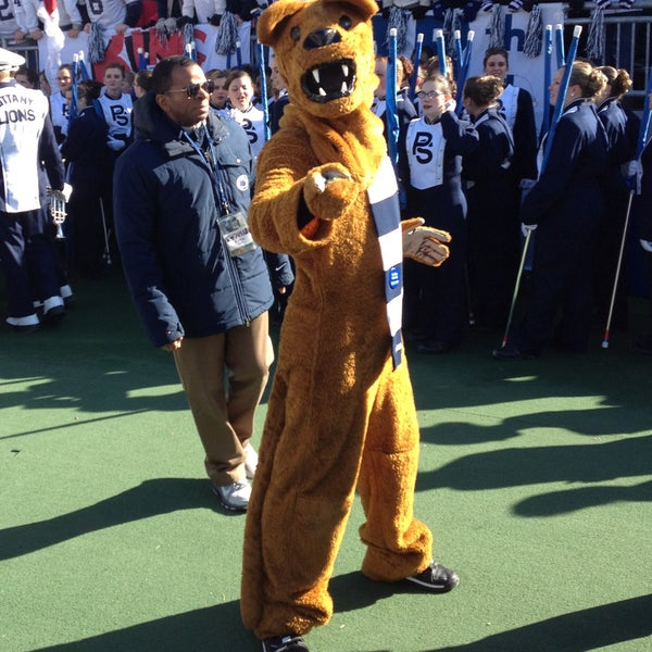 Photo taken at Beaver Stadium by Nittany Lion on 11/17/2012
