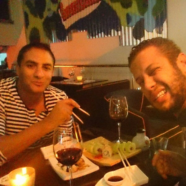 Photo taken at Sushi Club by Sofiene on 11/3/2014