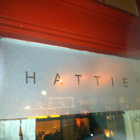 Photo taken at Hattie's by Kelly H. on 10/20/2012