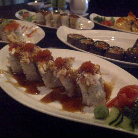 Photo taken at Nori The Japanese Kitchen Lounge by Loraine H. on 9/26/2012