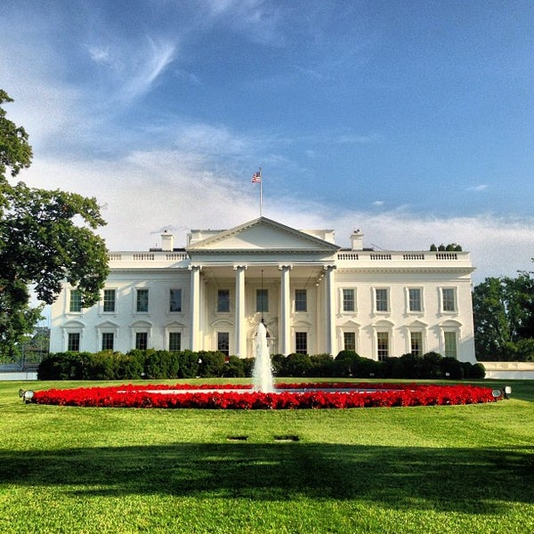 Photo taken at The White House by Vishnu P. on 6/24/2013