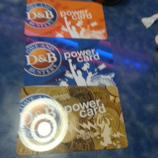 Photo taken at Dave & Buster's by Tiffany Y. on 1/2/2013