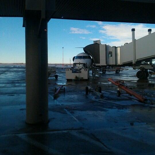 Photo taken at Saskatoon John G. Diefenbaker International Airport (YXE) by Frace M. on 11/5/2012