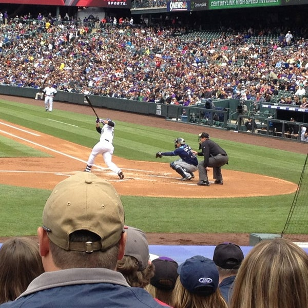Photo taken at Coors Field by Elle on 5/5/2013