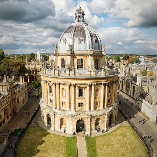 Photo taken at Radcliffe Camera by Peter C. on 11/20/2016