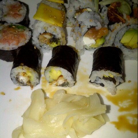 Photo taken at Sushi Lounge by Crystal C. on 9/29/2012