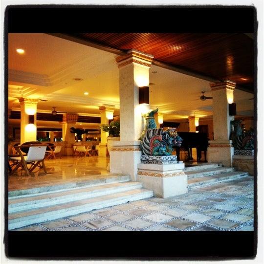 Photo taken at Grand Aston Bali Beach Resort by Jürgen U. on 10/19/2012