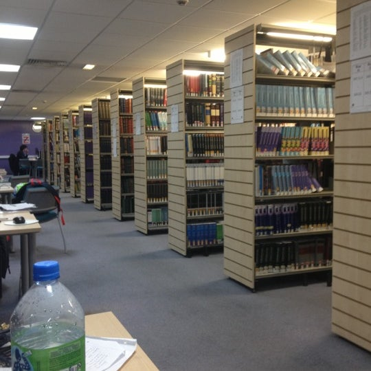 Photo taken at Northumbria University Library by Liam on 12/7/2012
