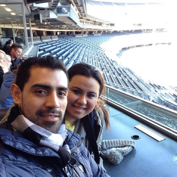 Photo taken at Yankee Stadium by NoRa on 3/8/2014