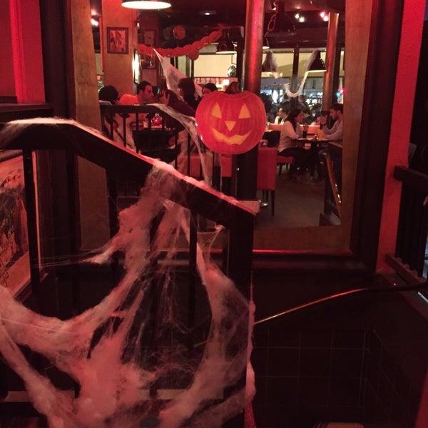 Photo taken at Indiana Café – République by imariel on 10/31/2014