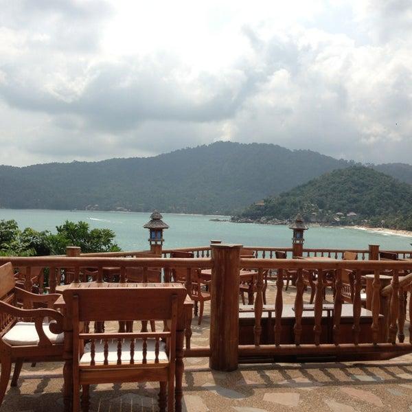 Photo taken at Santhiya Resort And Spa Koh Phangan by Numon S. on 1/25/2013