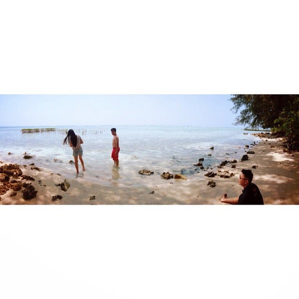 Photo taken at Pulau Pramuka by mayliany on 8/27/2014