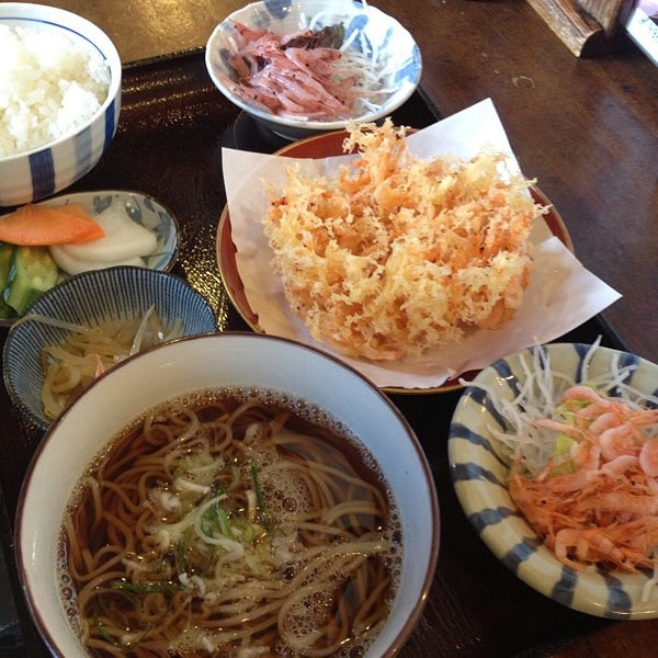 Photo taken at 食堂さくら屋 by Chiba Y. on 1/25/2013