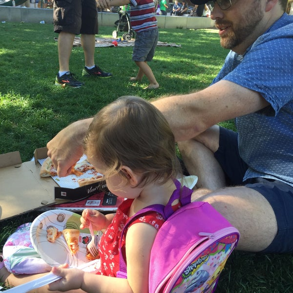 Photo taken at Todos Santos Plaza by andrea w. on 7/11/2016